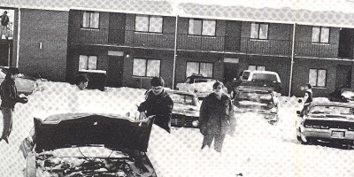 Students Dig Out Cars