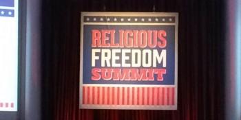 Religious Freedom Summit