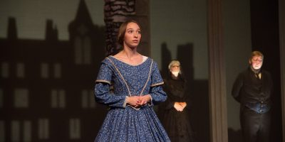 """Senior Alana Perry said she has read """"Jane Eyre"""" eights times which really helped her prepare for taking on this role Photo Credit: Jennifer Gammie"""